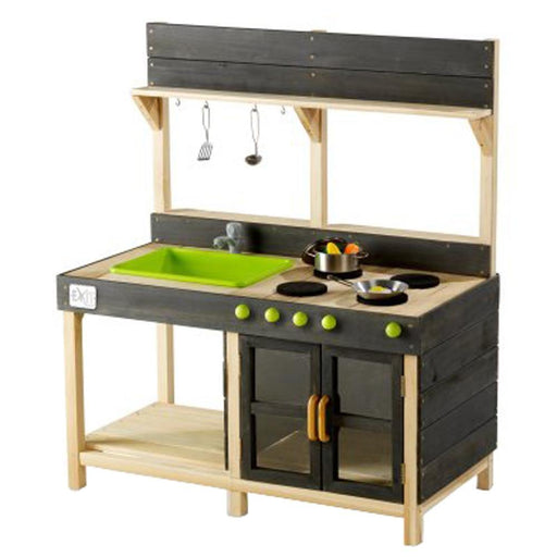 Exit Yummy 200 Wooden Outdoor Kitchen - Naturel