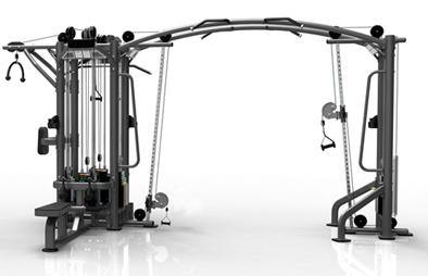 GymGear Elite Series 5 Station Multi Gym