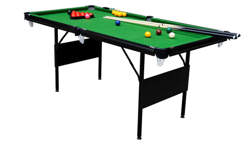 GAMESSON 6' CRUCIBLE SNOOKER TABLE FOLDING