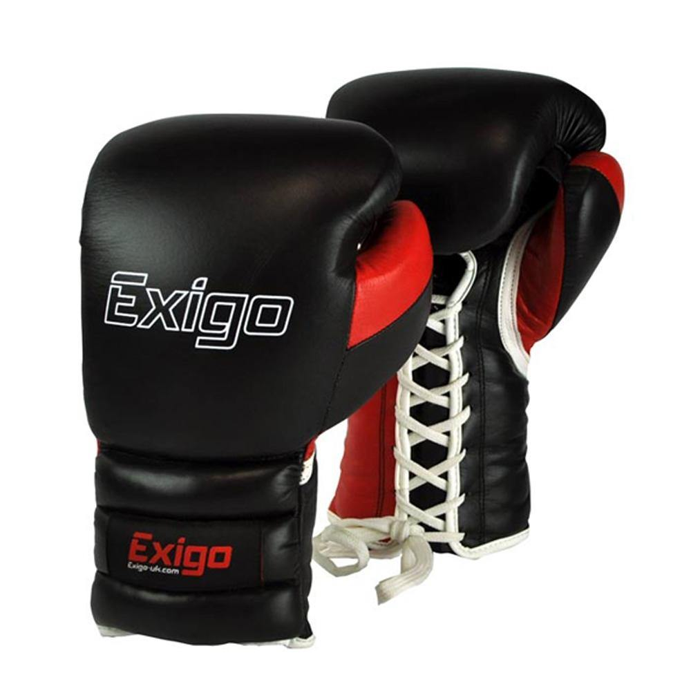 Exigo Ultimate Pro Sparring Lace Up Gloves
