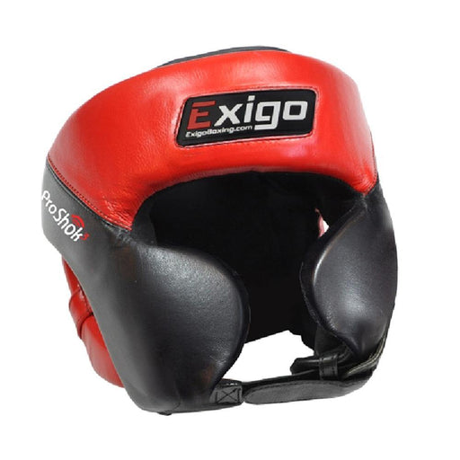 Exigo Pro Head Guard With Cheek
