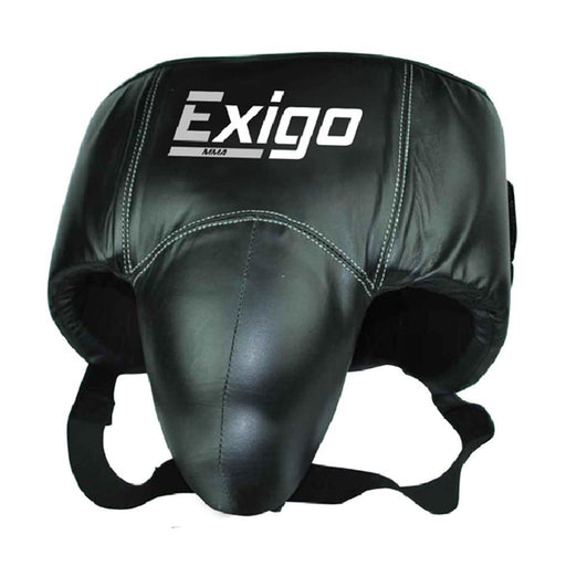 Exigo Pro Groin /Abdominal Guard, Red/Black - S/M