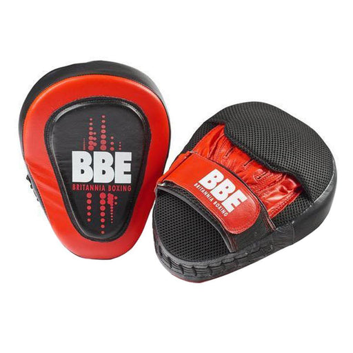 York BBE CLUB Leather Curved Hook & Jab Pads