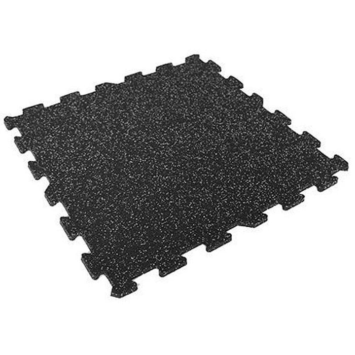 Jordan Black & Grey Fleck Rubber Flooring (12mm thickness)