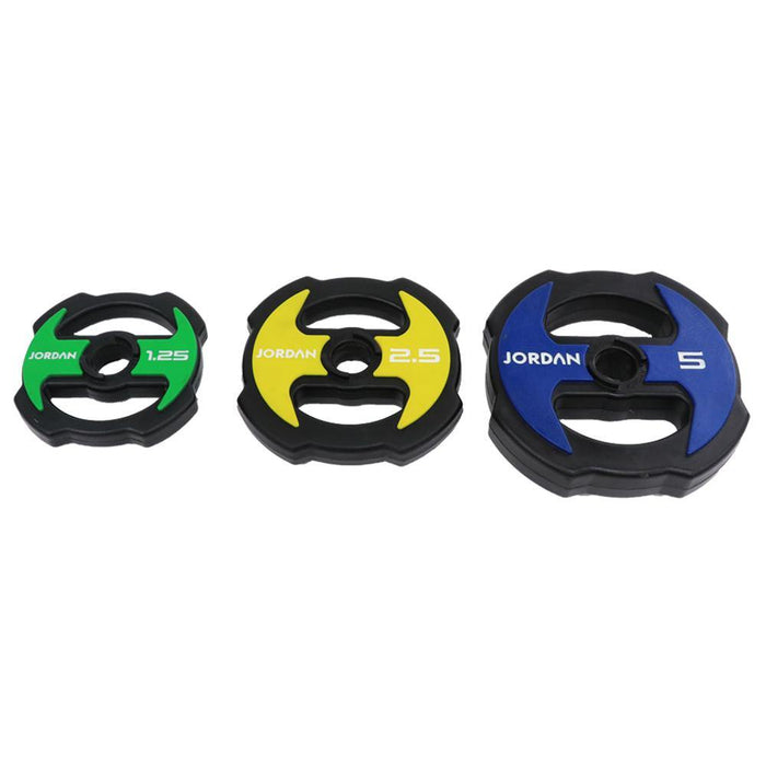 Jordan Ignite V2 Urethane Studio Barbell Sets - Colour Coded