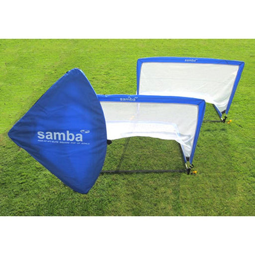 Samba Elite Pop Up Football Goal 4ft SQUARE - 1 PAIR