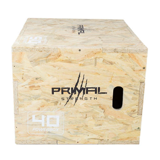 Primal Strength Rebel Wooden Plyo Box