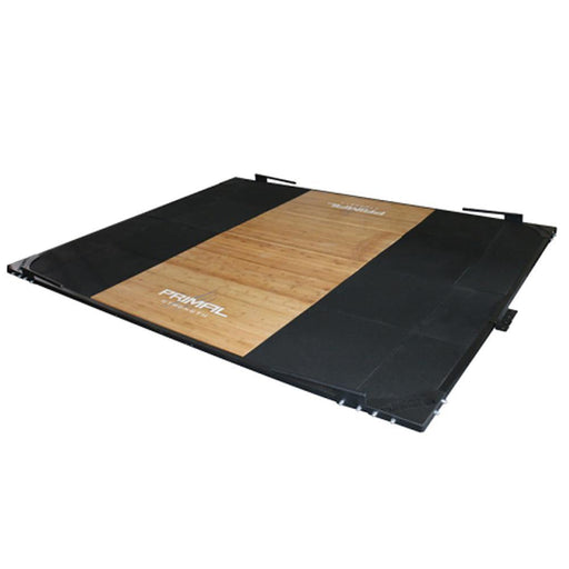 Primal Strength Olympic Lifting Platform with Steel Frame and Band Hooks