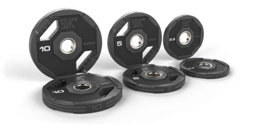 Escape Nucleus Urethane Olympic Grip Plates (from 1.25kg - 25kg)