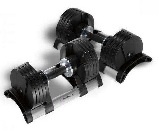 Stairmaster Twistlock Adjustable Dumbbells - 2-20kg