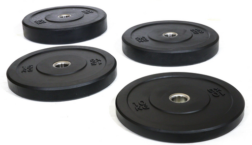 Black Rubber Bumper Plate Sets