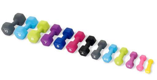 Physical Neo-Hex Dumbbells (up to 10kg)