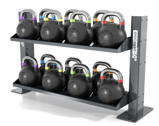 Escape Kettlebell Set With Octagon Rack