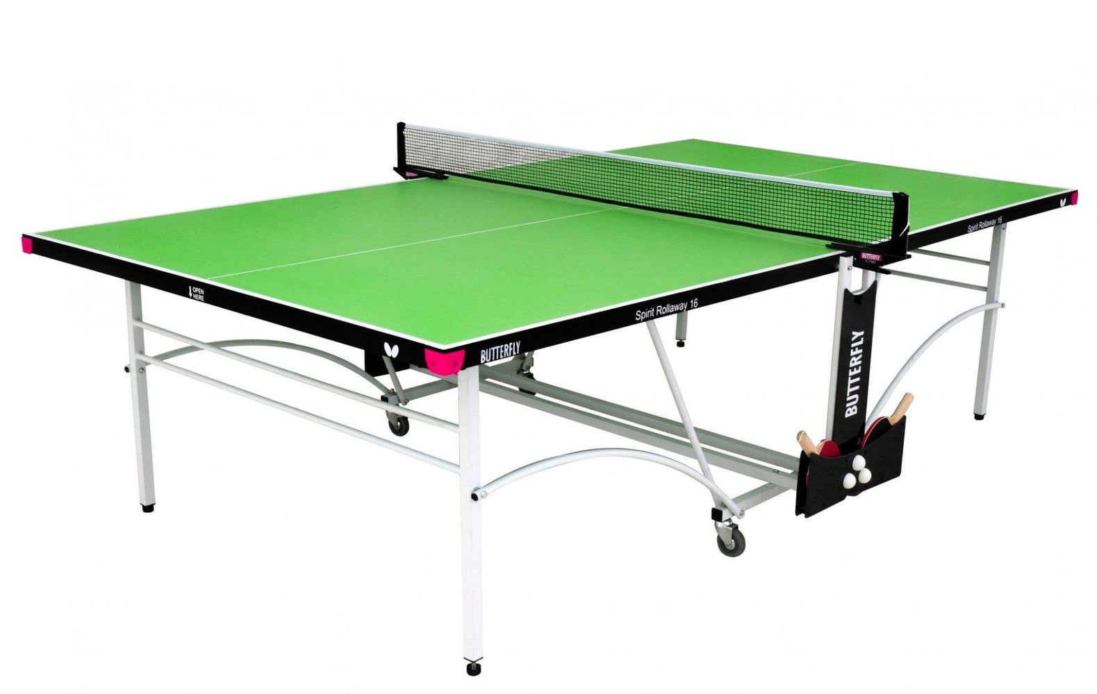 Butterfly Spirit 16 Rollaway Table Tennis