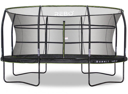 Rebo Summit Oval 12ft X 16ft Trampoline And Safety Enclosure - Summit 1600