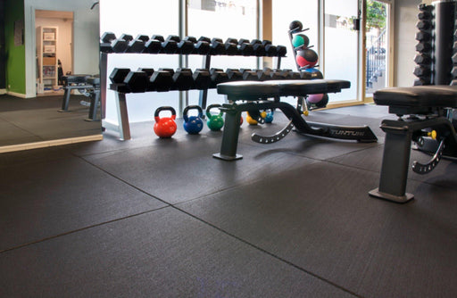 Premium Grade Rubber Gym Flooring