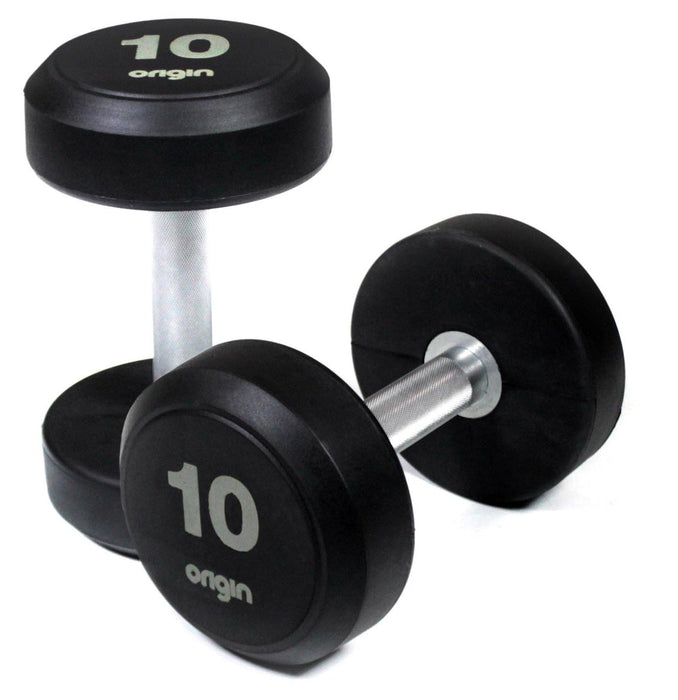 Origin RD2 Rubber Dumbbells (up to 70kg)