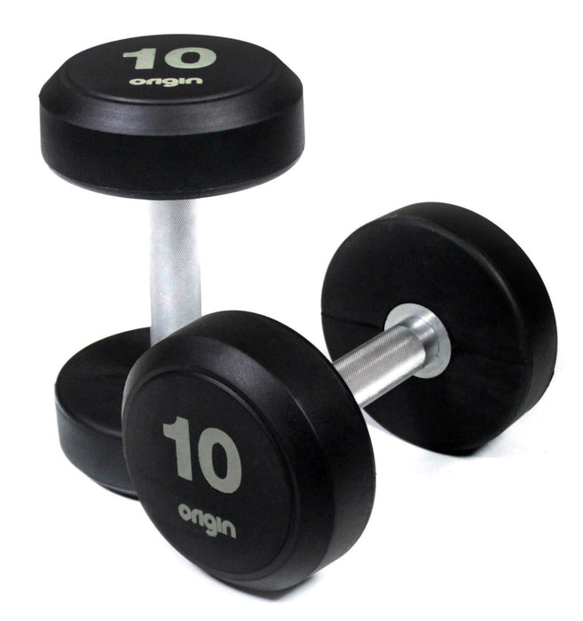 Origin RD2 Rubber Dumbbells Sets (up to 70kg)