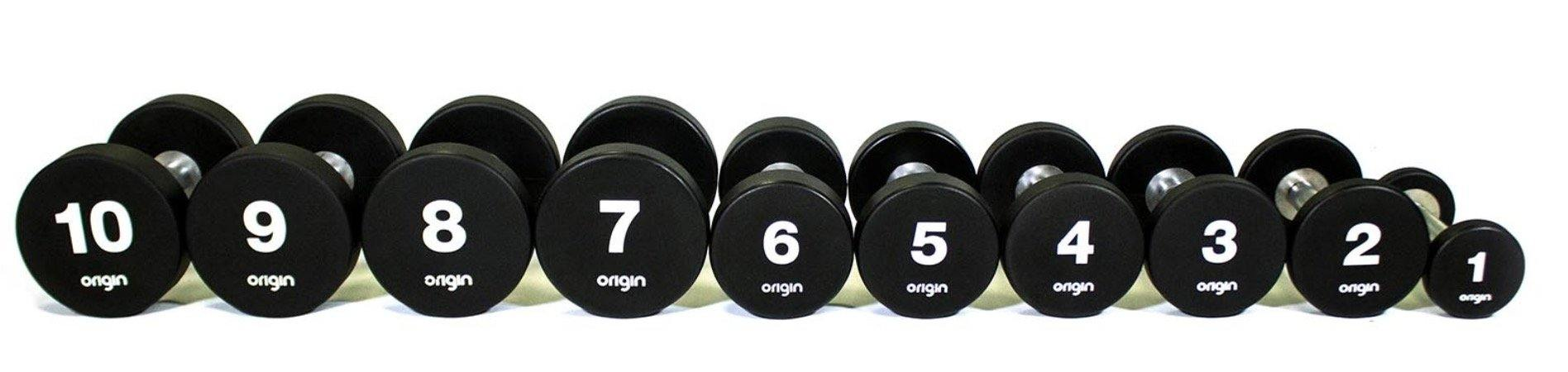 Origin UD2 Urethane Dumbbells Sets (up to 50kg)