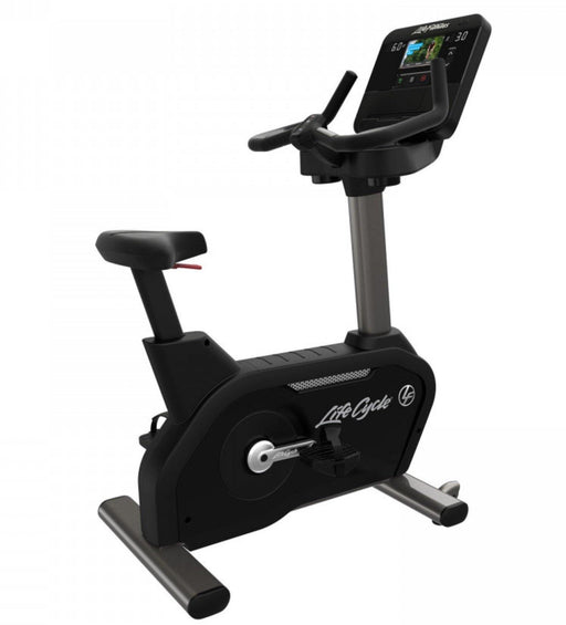 Life Fitness Club Series+ Upright Bike with DX Console (Titanium) - FREE INSTALLATION