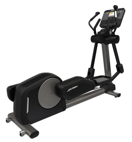 Life Fitness Club Series+ Elliptical Cross Trainer DX Console - Titanium