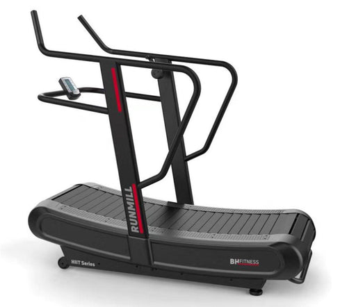 BH Fitness G669 Hiit Curved Manual Treadmill