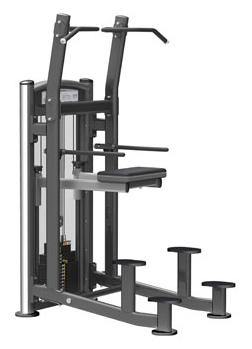 GymGear Elite Series Assisted Chin Dip Selectorised Station