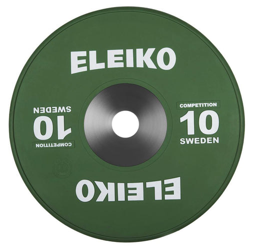 Eleiko Competition Rubber Discs (Up to 25kg)