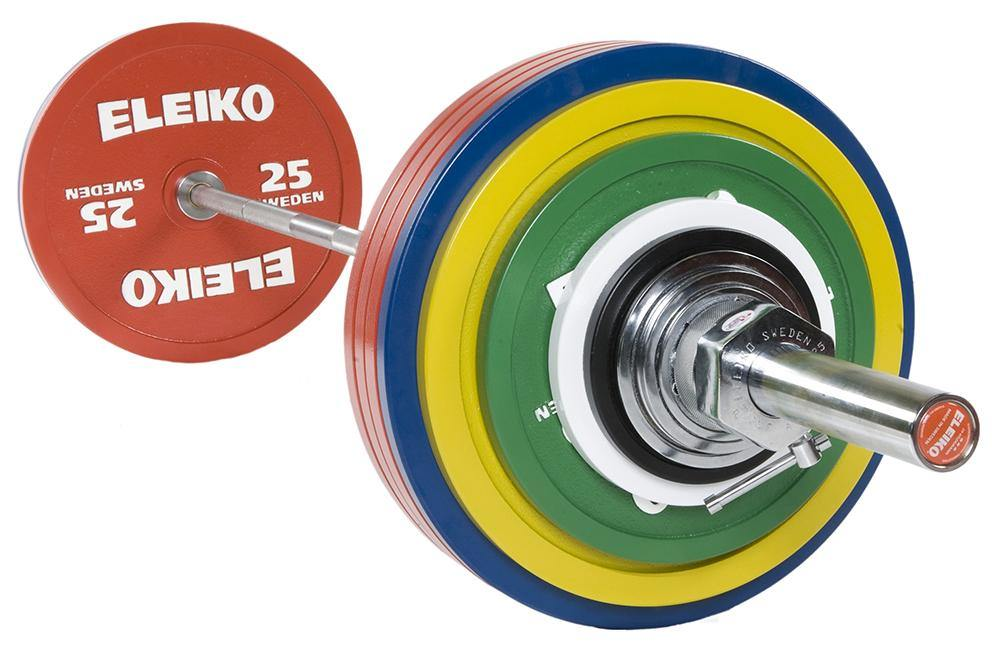 Eleiko PowerLifting Competition Set (Up to 435kg)
