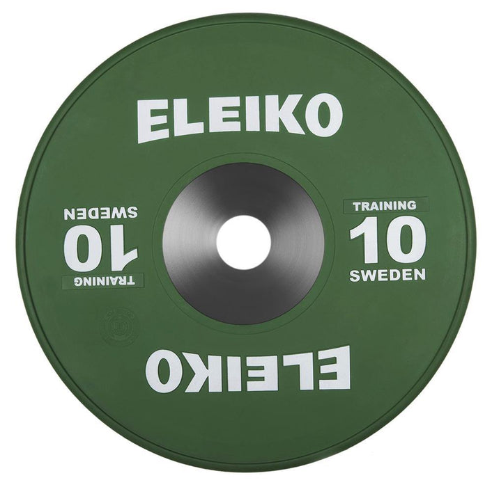 Eleiko WeightLifting Coloured Training Discs (Up to 25kg)