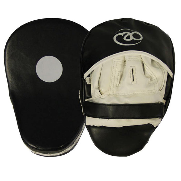 Boxing Mad Curved Synthetic Leather Focus Pads - Pair