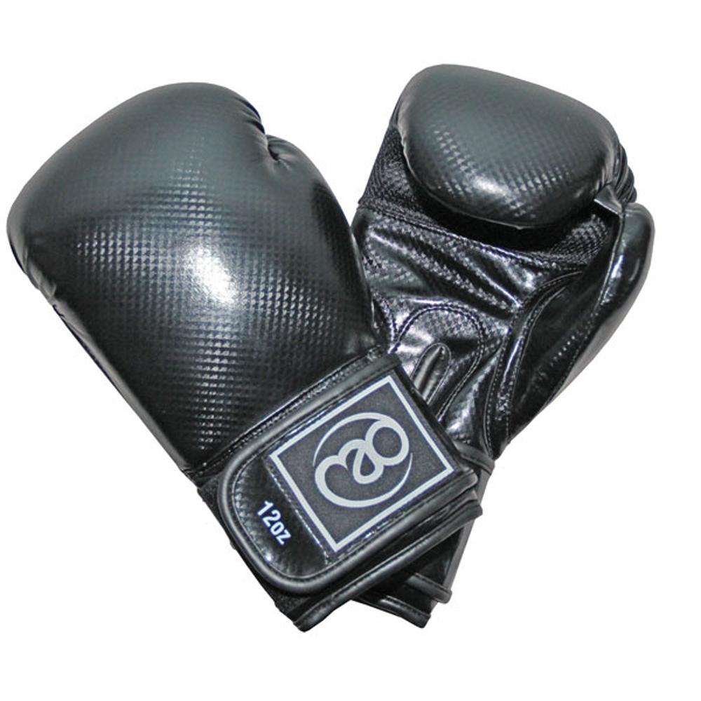 Boxing Mad 10oz PU Carbon Sparring Gloves - Pair