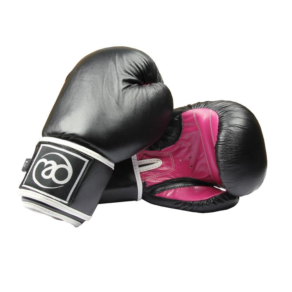 Boxing Mad Leather Sparring Gloves 8oz (Ladies) - Pair