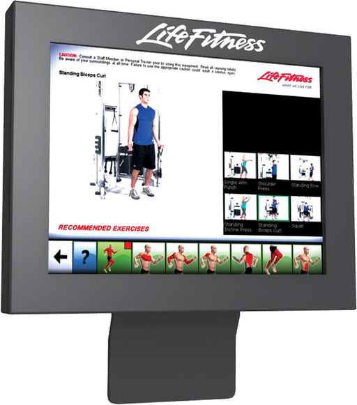 Life Fitness Signature Series Dual Adjustable Pullley Console