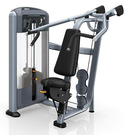 Precor Discovery Series Selectorised Converging Shoulder Press