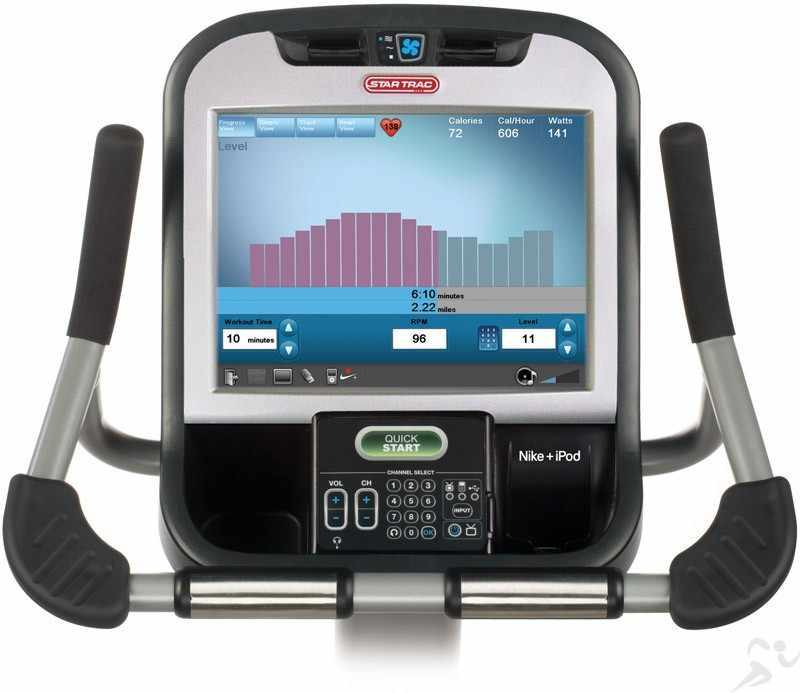Star Trac E-UBe E Series Upright Bike (With Embedded Touchscreen)