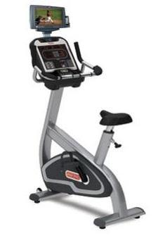 Star Trac E-UBi E Series Upright Bike (With Personal Viewing Screen)