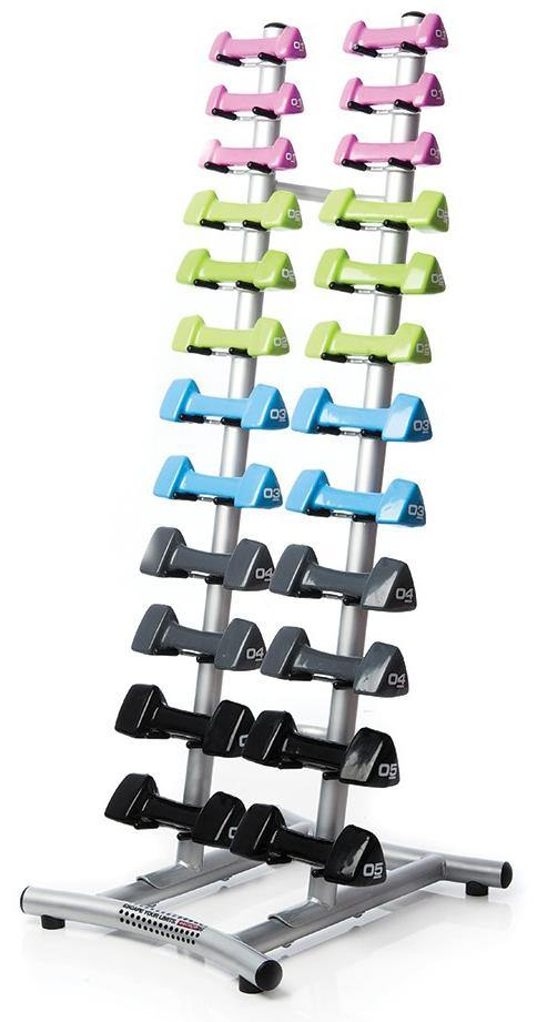 Escape Studio Handweight Rack (Holds 12 Pairs)