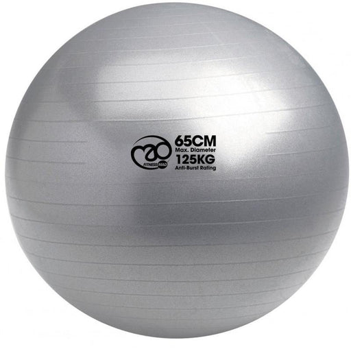 Fitness Mad 125Kg Swiss Ball & Pump