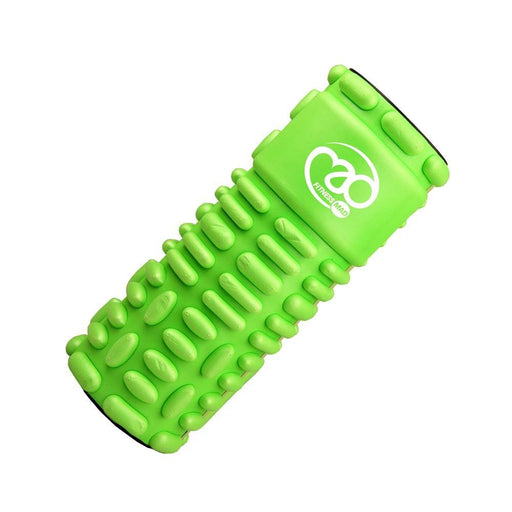 Fitness Mad Vari-Massage Foam Roller - Lime Green