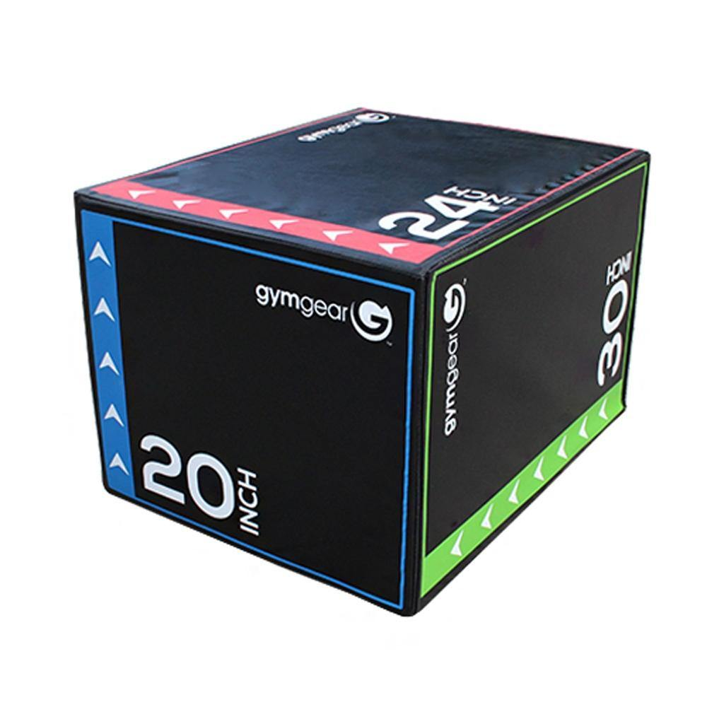 GymGear Soft 3 in 1 Plyometric Box