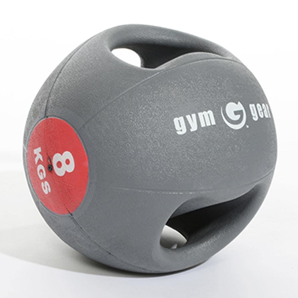 GymGear 3kg Medicine Ball With Handles