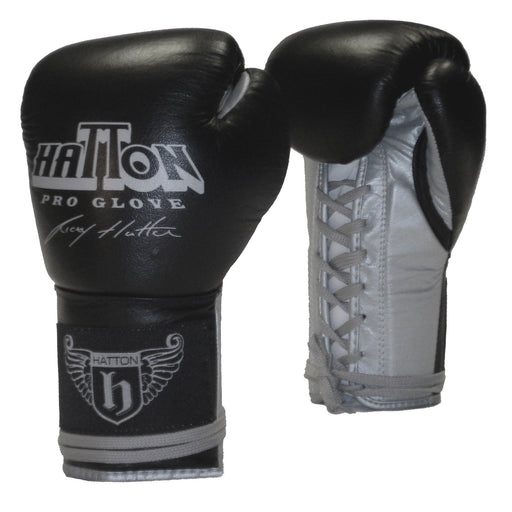 Hatton Pro Leather Lace Sparring Glove (14oz)