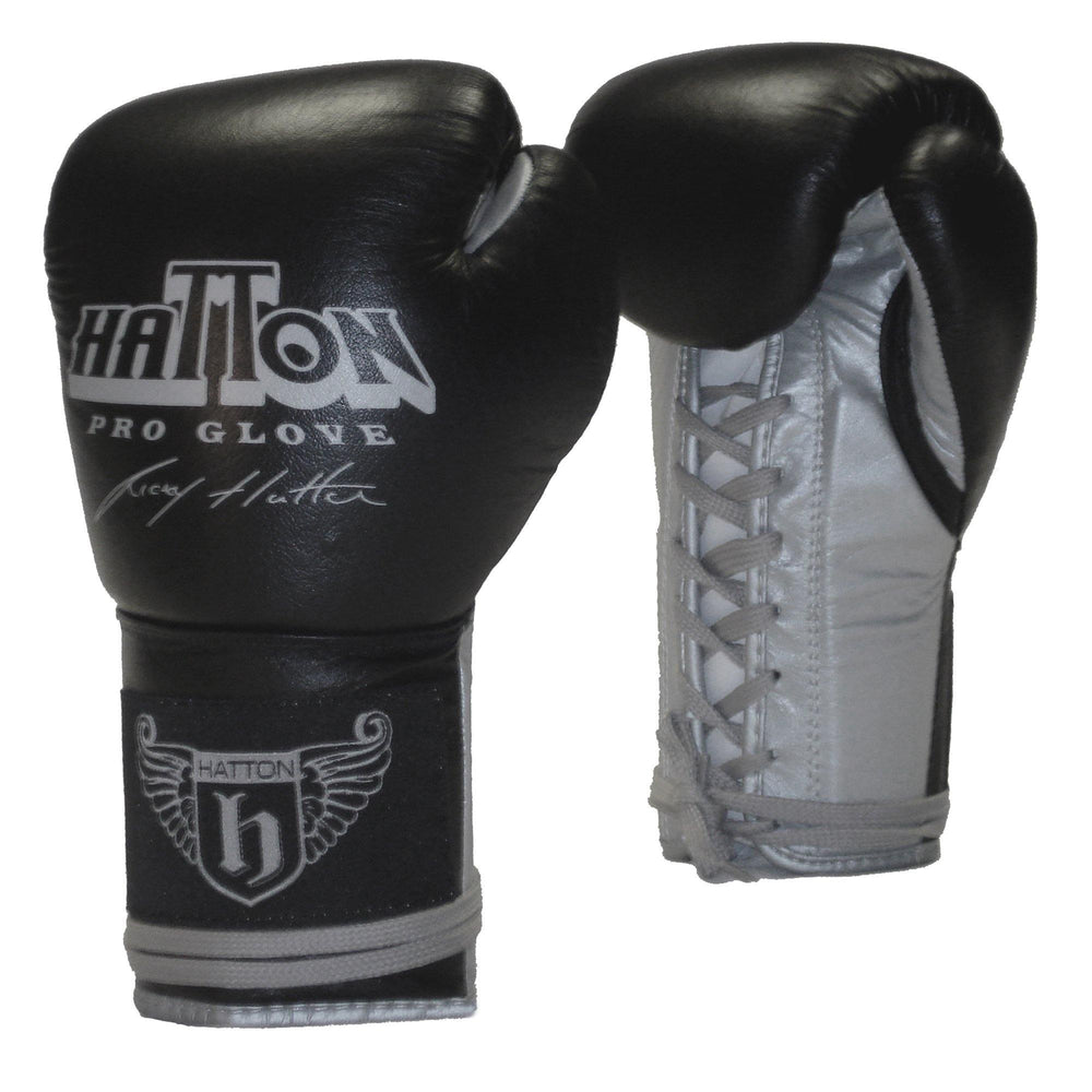 Hatton Pro Leather Lace Sparring Glove (16oz)