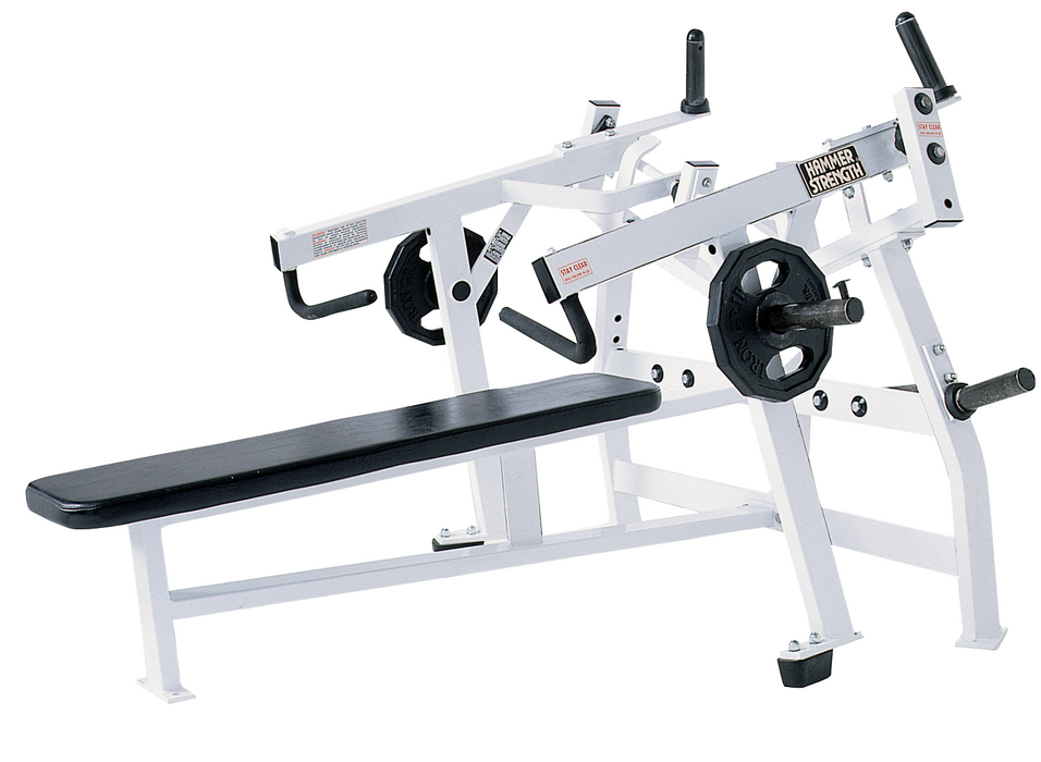 Hammer Strength Plate-Loaded Iso-Lateral Bench Press
