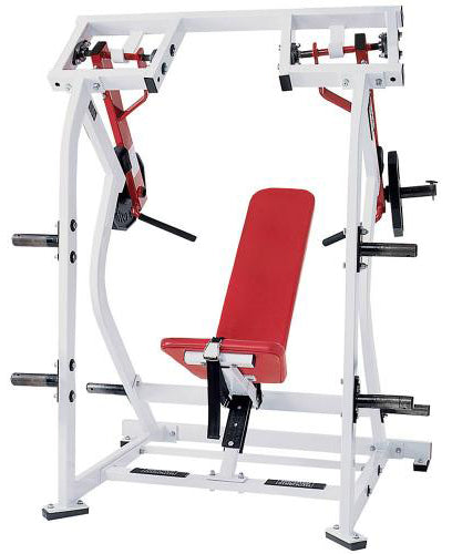 Hammer Strength Iso-Lateral Shoulder Press Plate Loaded
