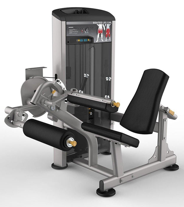 Impulse Escalate Seated Leg Curl Machine