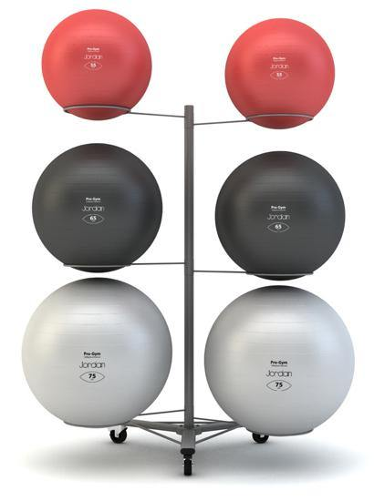 Jordan Fit Ball Rack (Holds up to 6 Balls)