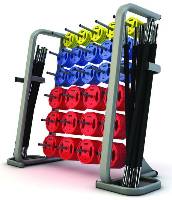 Jordan Studio Barbell Rack (up to 30 Sets)