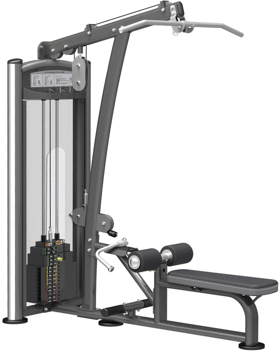 GymGear Elite Series Lat Pulldown / Low Row Selectorised Station